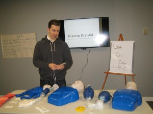 First Aid  and CPR ession