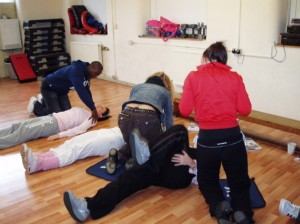 St Mark James First Aid Renewal Training Classroom